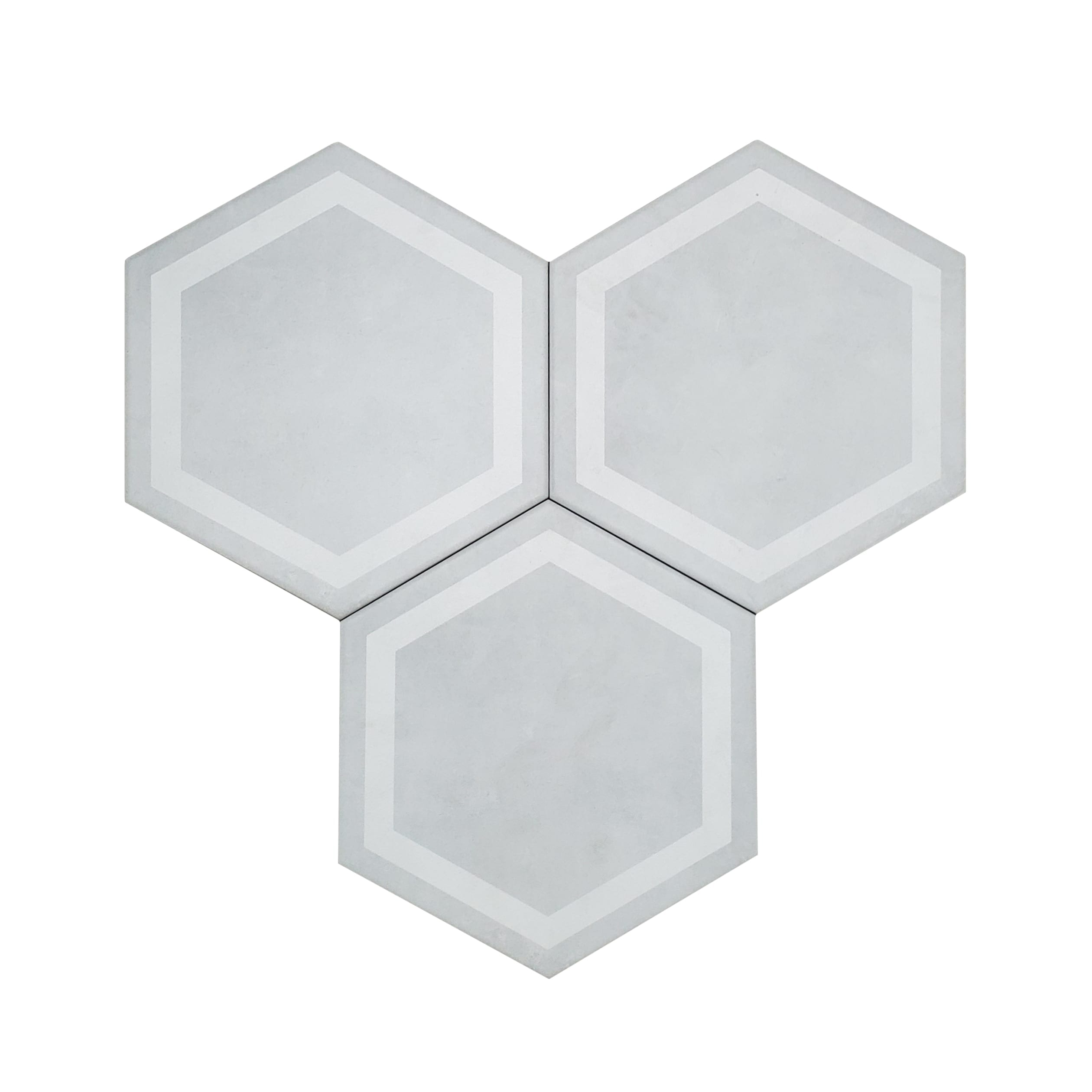 7×8 Form Hexagon Wall or Floor_Ivory-3.89