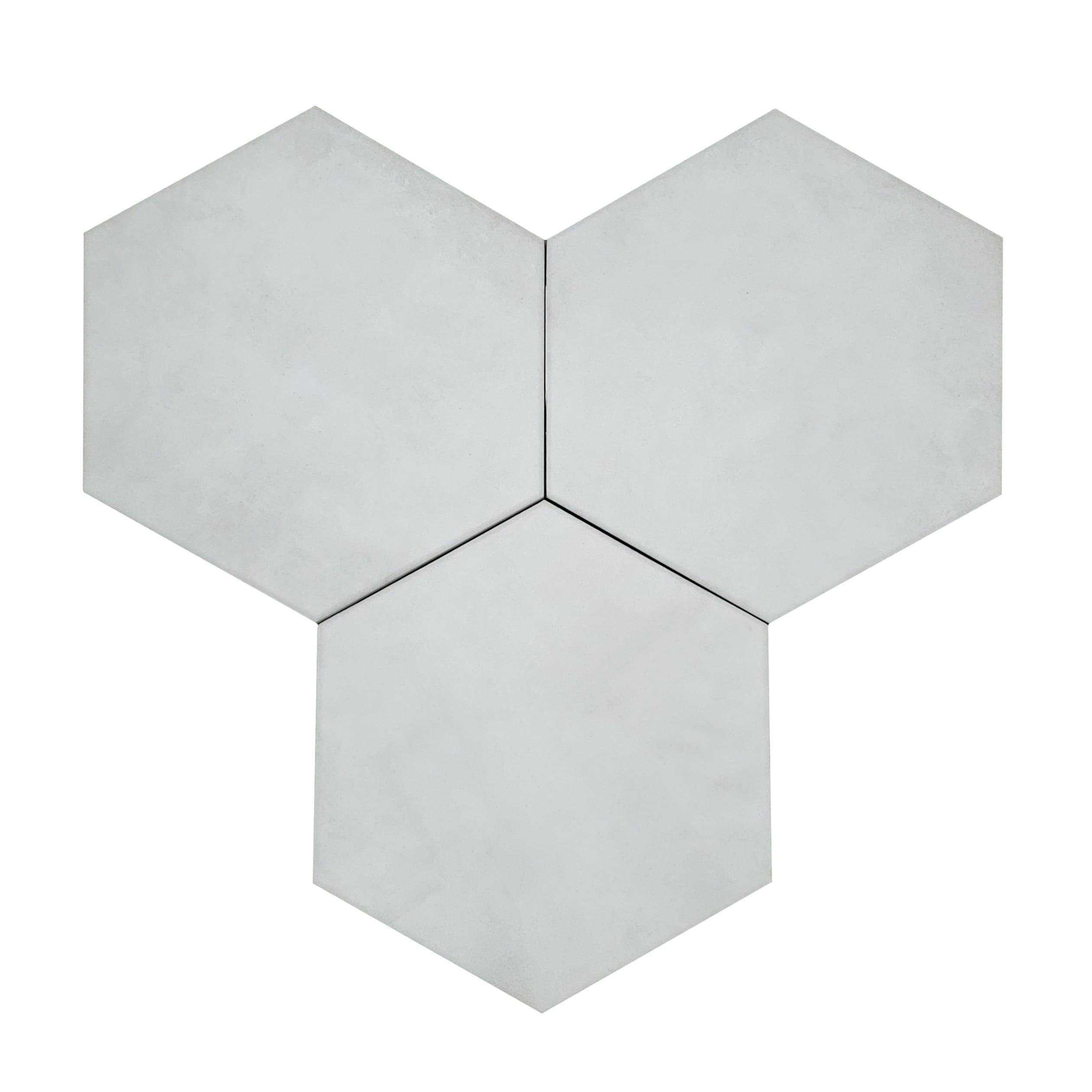 7×8 Form Hexagon Wall or Floor_Ivory-3.89v2