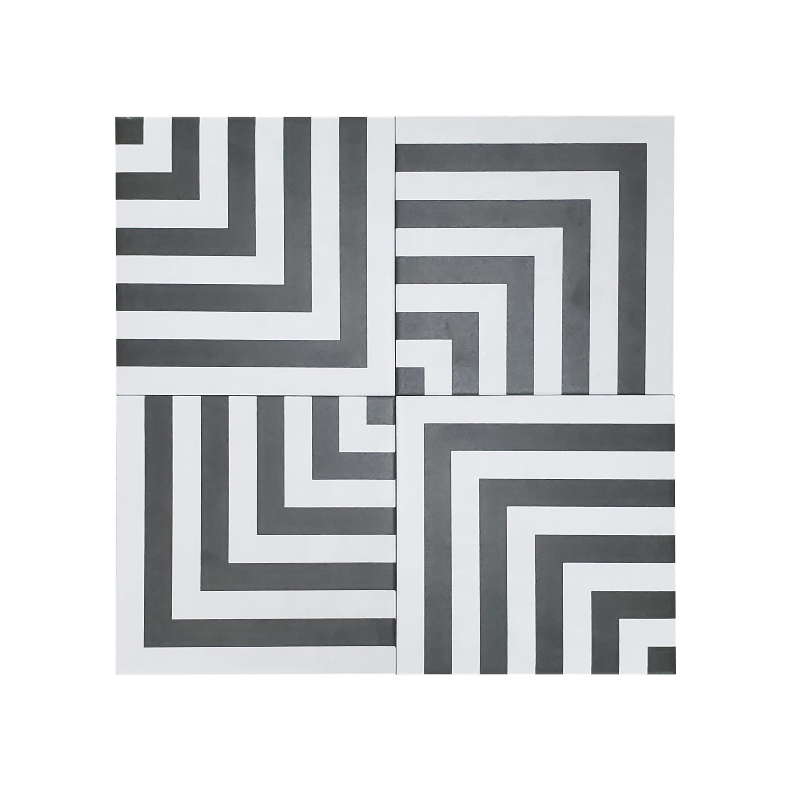 8×8 Form_Monochrome Geo-2.79