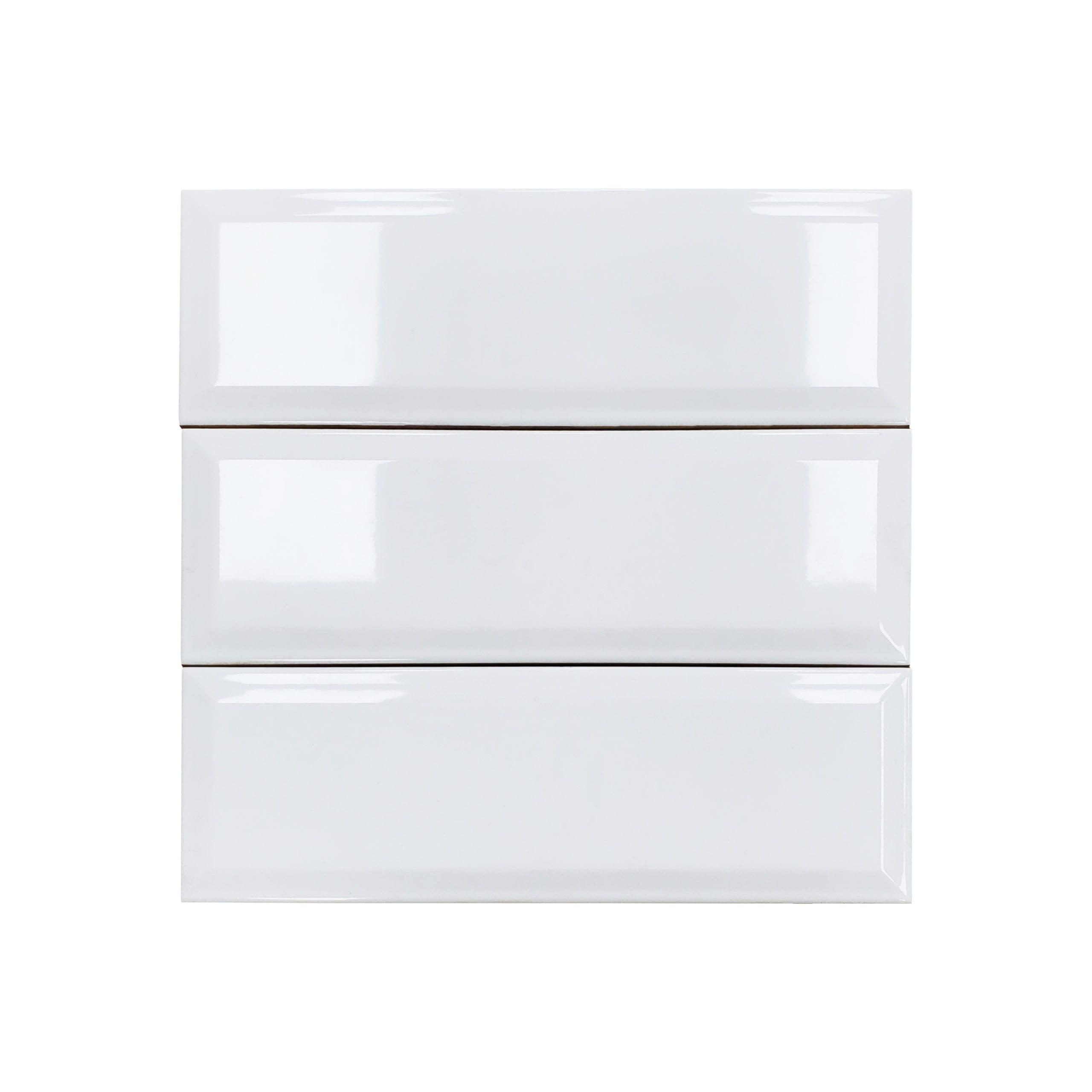 4×12 Soho Beveled_White Glossy_1.99