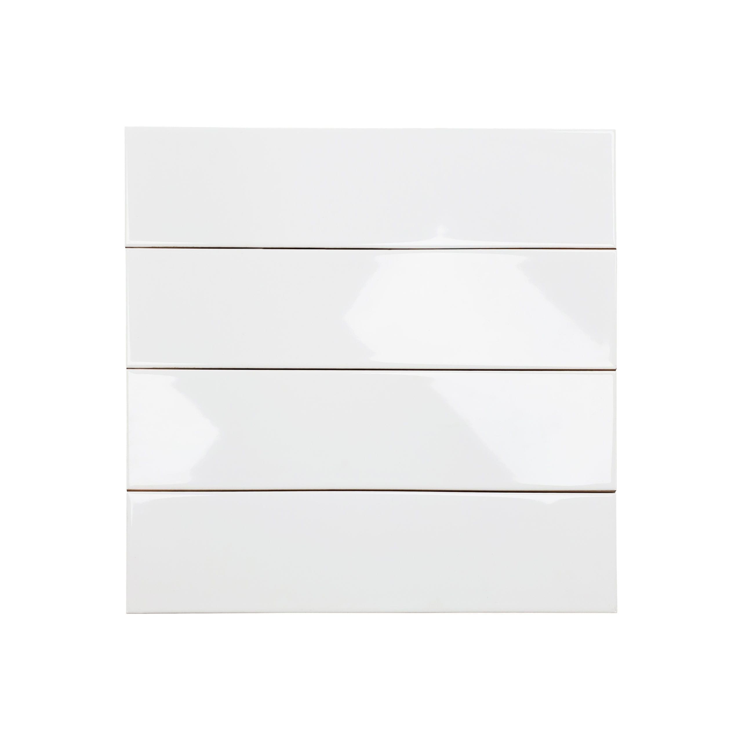 4×16 Soho Glossy Tile_White_1.99
