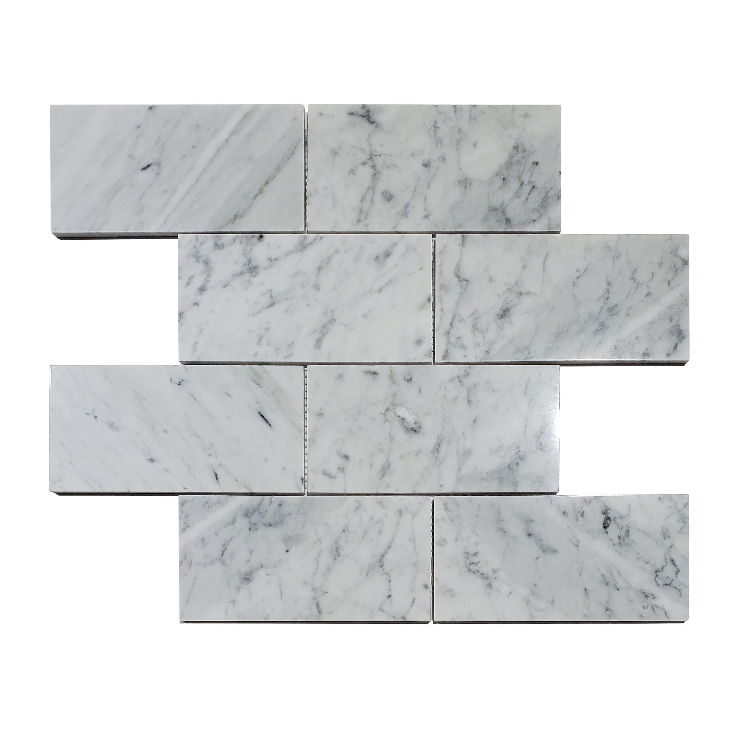 3×6 Polished Tile_Carrara_9.99