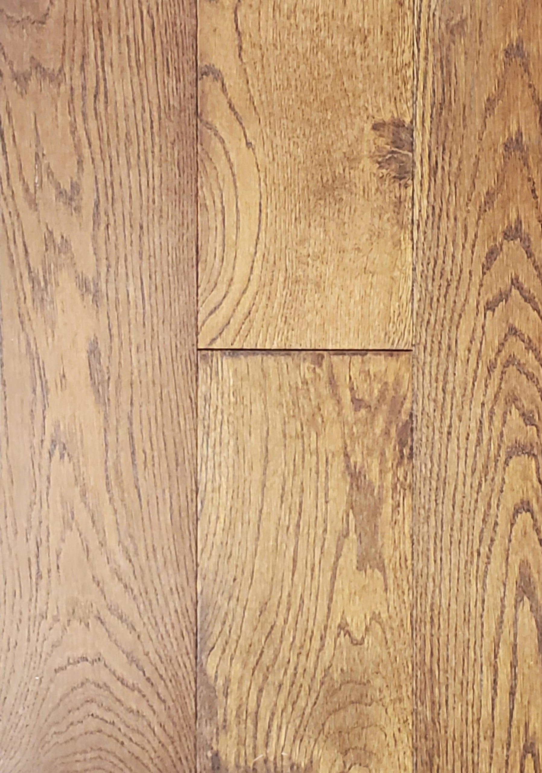 6.5inx.75inxRL European Oak Hardwood_Wirebrushed_Birmingham_23.11sfct_4.99