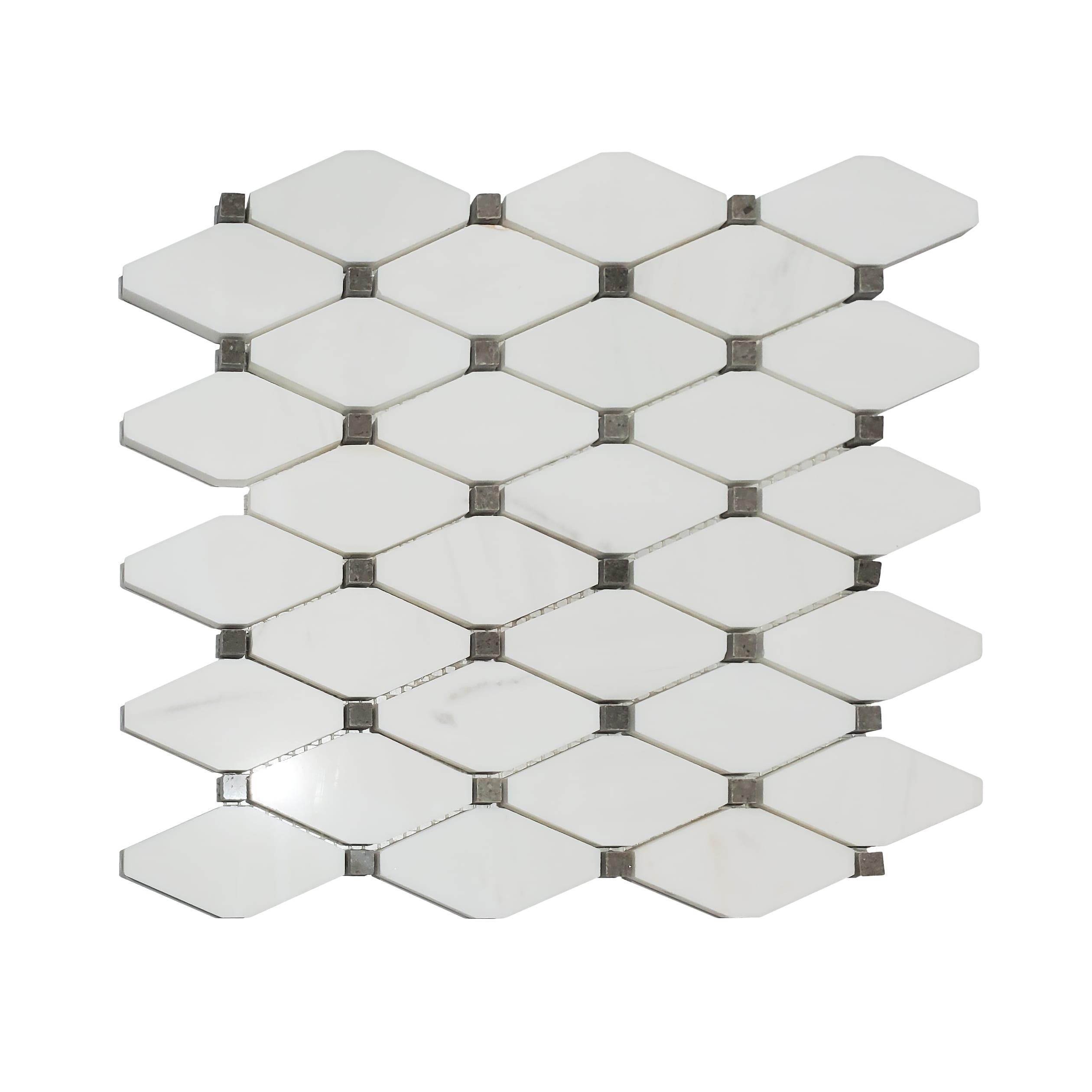 Long Octagon Mosaic_Dolomite_33.98_19.99